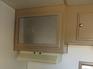 trailer cupboard makeover